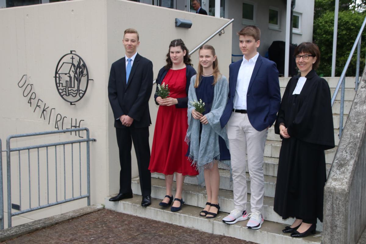 Konfirmation 05. Mai 2019, Dorfkirche Isenbügel, Kirsten Düsterhöft