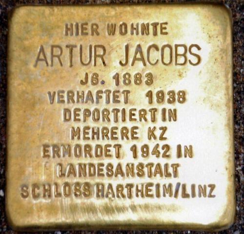 Stolperstein Artur Jacobs (1)